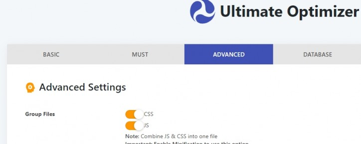 Check everything, as told by Ultimate Optimizer (paid) support.